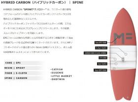 hybrid carbon spine
